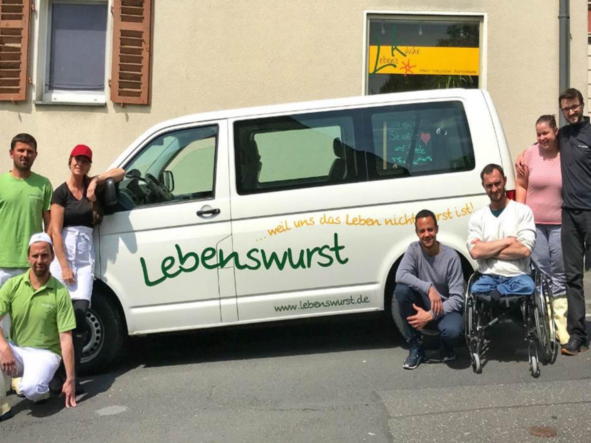 Das Team der Lebensküche. Foto: Lebensküche e.V.