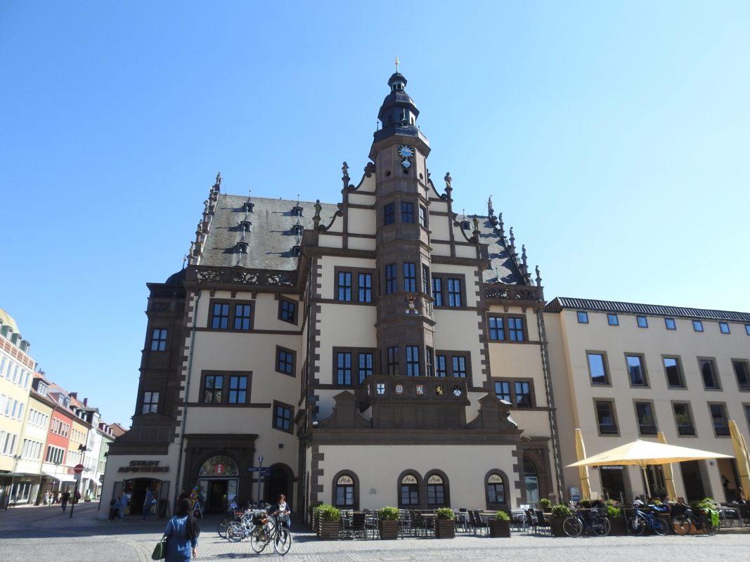 Das Schweinfurter Rathaus. Foto: Dirk Flieger