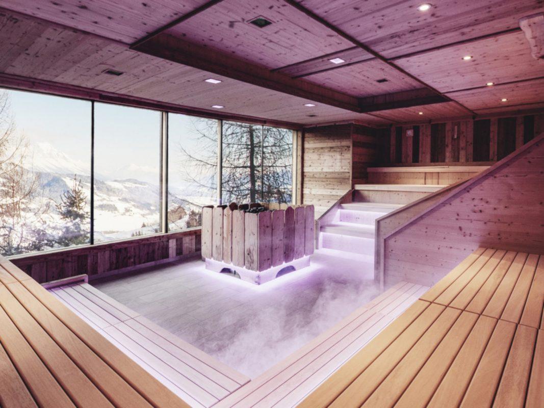Was gibt es Schöneres, als bei kalten Temperaturen in der Sauna zu schwitzen? Foto: Höflehner