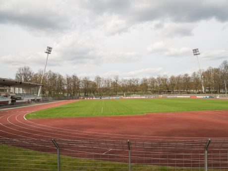 Willy-Sachs-Stadion in Schweinfurt. Foto: Pascal Höfig