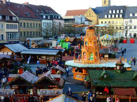 Der Schweinfurter Weihnachtsmarkt. Foto: Dirk Flieger