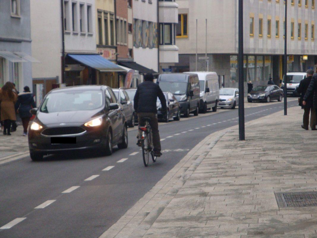 Die Zehntstraße ist für den Verkehr wieder geöffnet. Bild: Moritz Kreisel/ Stadt Schweinfurt