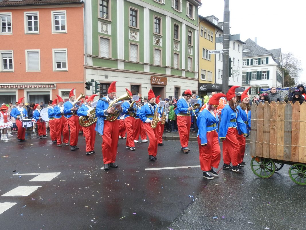Schweinfurter Faschingszug. Foto: Dirk Flieger