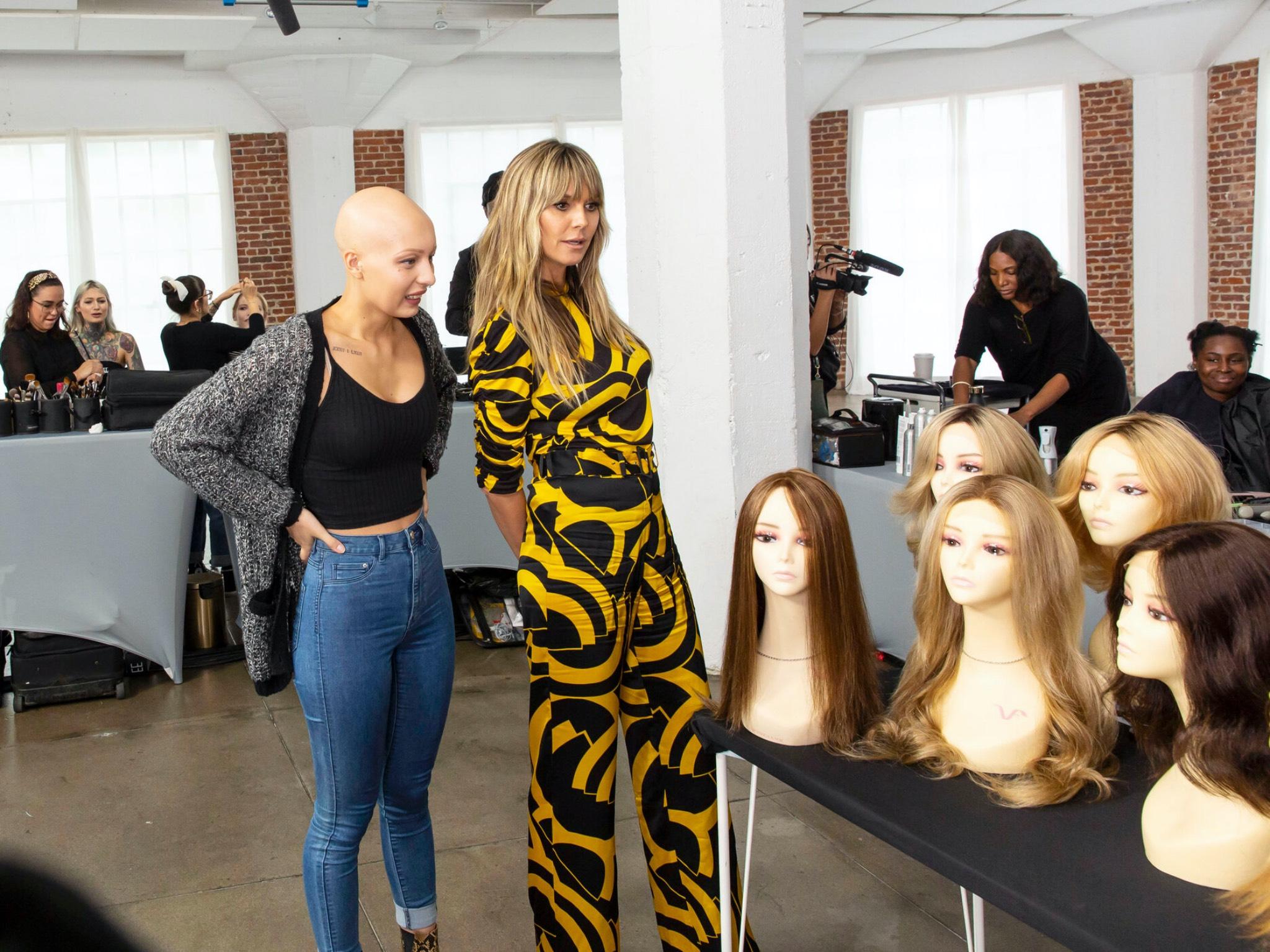 Germany´s next Topmodel - by Heidi Klum - Das Umstyling. Copyright: ProSieben/Sven Doornkaat; Fotograf: Sven Doornkaat; Bildredakteur: Susanne Karl-Metzger.