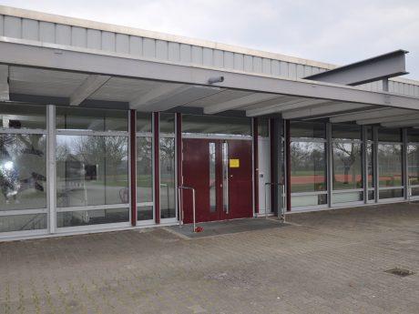 Teststelle im Alexander-von-Humboldt-Gymnasium. Foto: Kristina Dietz/ Stadt Schweinfurt