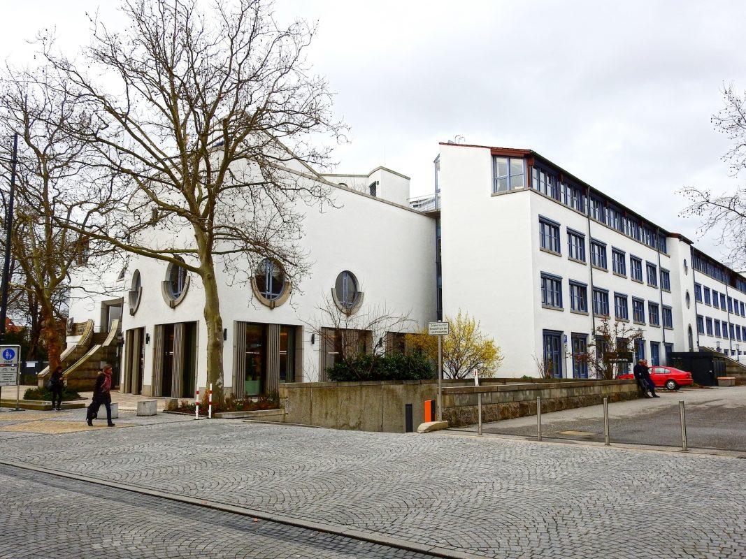Das Landratsamt Schweinfurt. Foto: Dirk Flieger