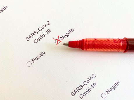 Symbolbild Coronatest. Foto: Jessica Hänse