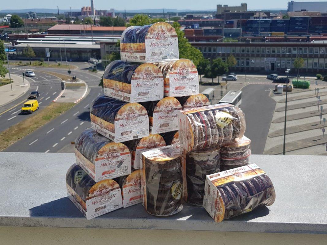 Die ersten Lebkuchen wurden gesichtet! Foto: Dirk Flieger