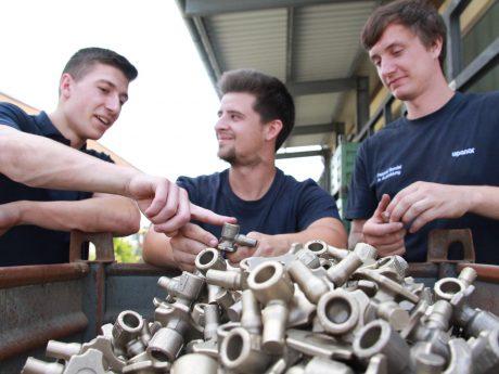 Eine Ausbildung bei Uponor ist vielschichtig und abwechslungsreich. Foto: Uponor