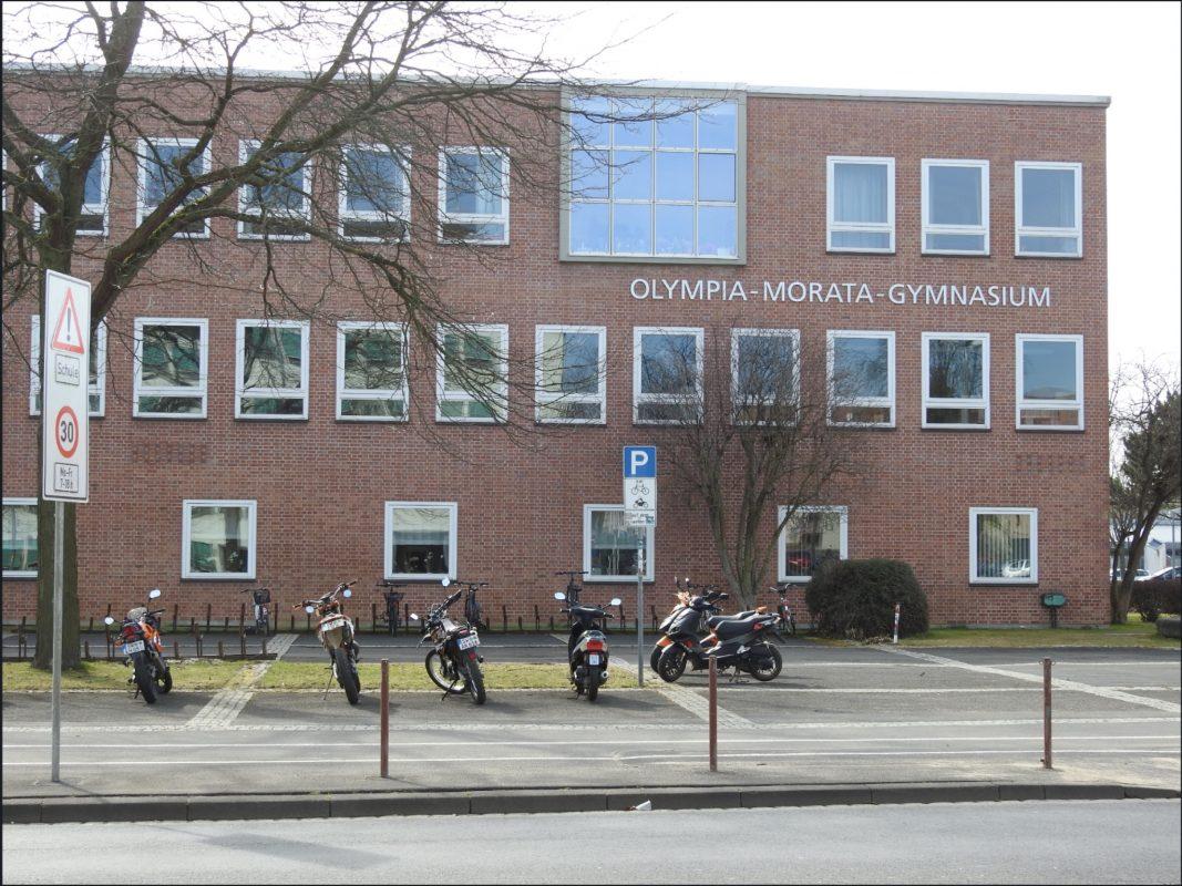 Das Olympia-Morata-Gymnasium. Foto: Dirk Flieger