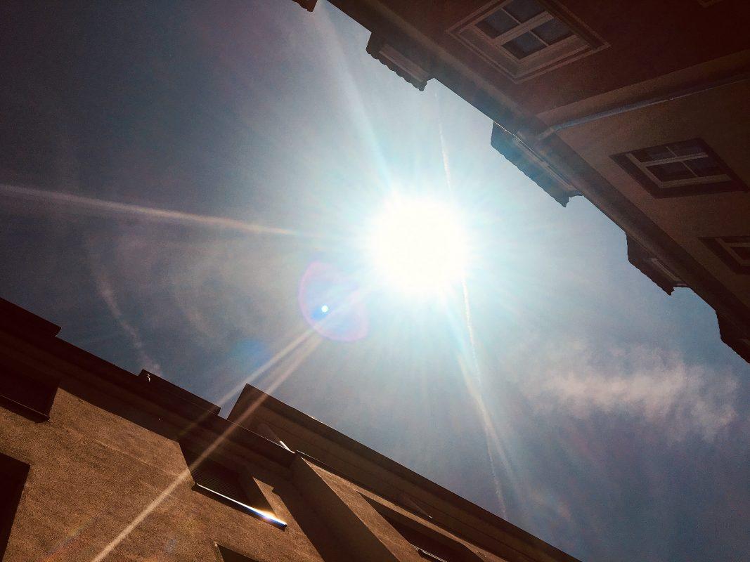 Der Sonnenmonat Juli bringt ein Hoch an Sonnenstunden mit sich! Foto: Dominik Ziegler