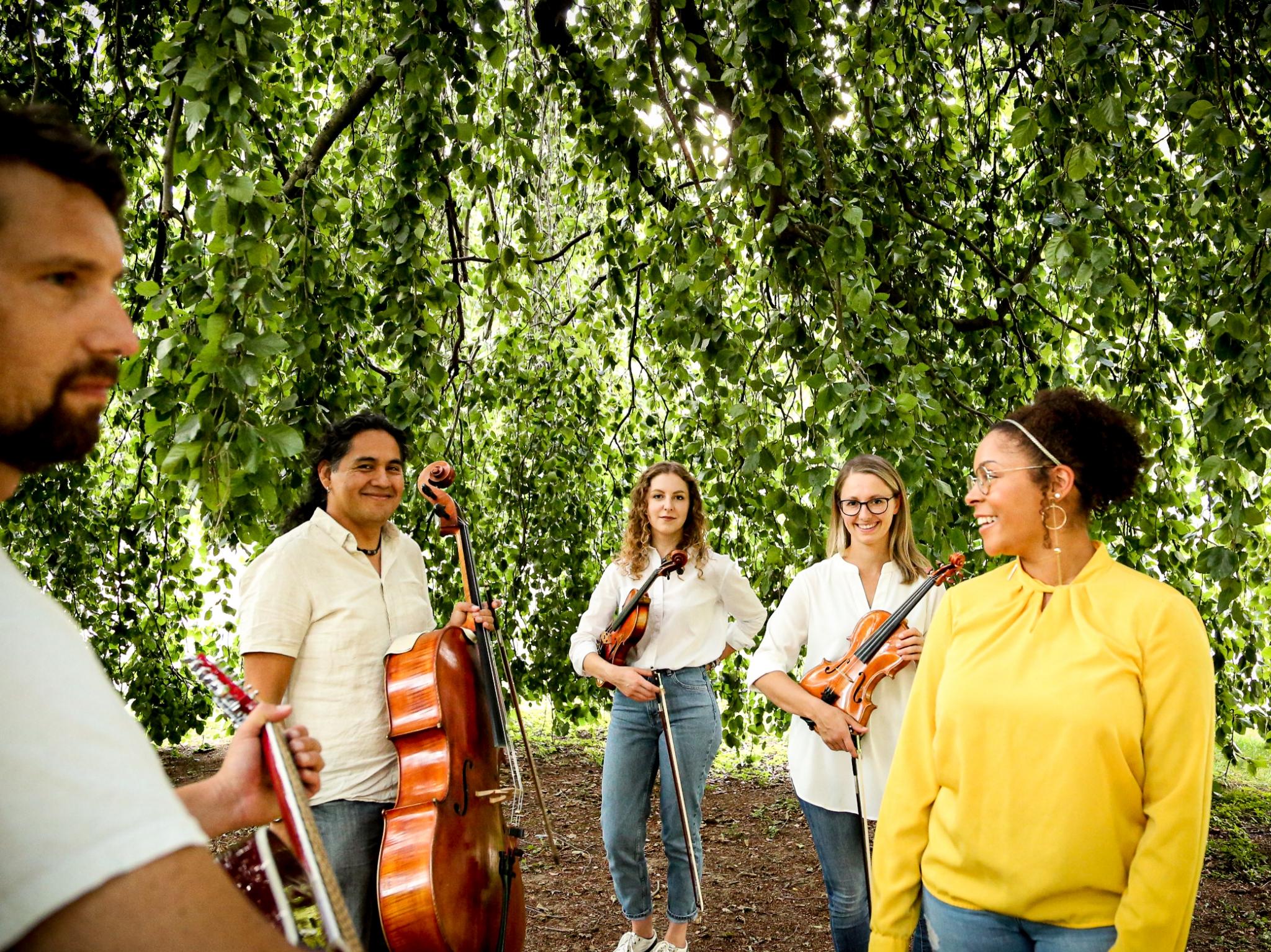 """Die Band """"Sondermarke"""". Foto: Sebastian Menninger"""