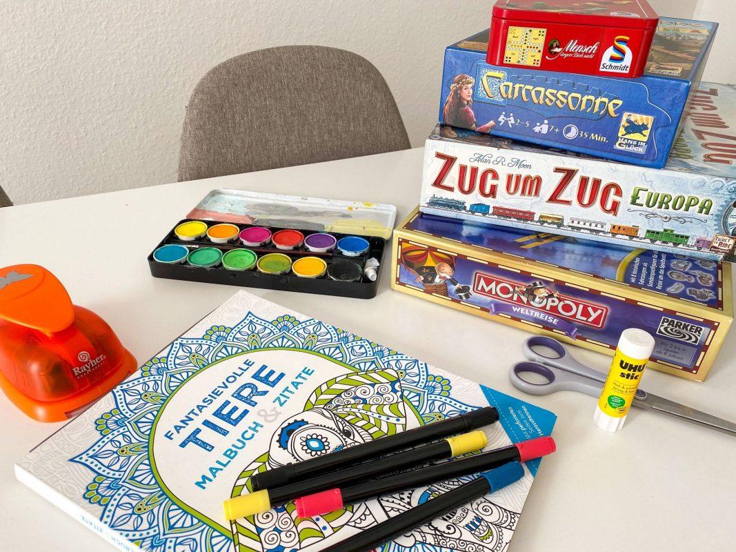 Symbolbild Basteln und Spielen. Foto: Jessica Hänse
