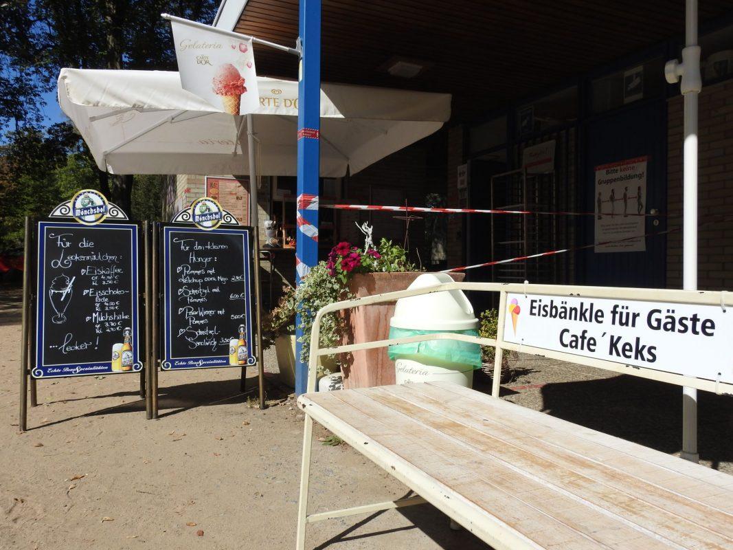 Das Café Keks lockt seit diesem Sommer wieder mit leckeren Snacks und Getränkeangeboten. Foto: Dirk Flieger