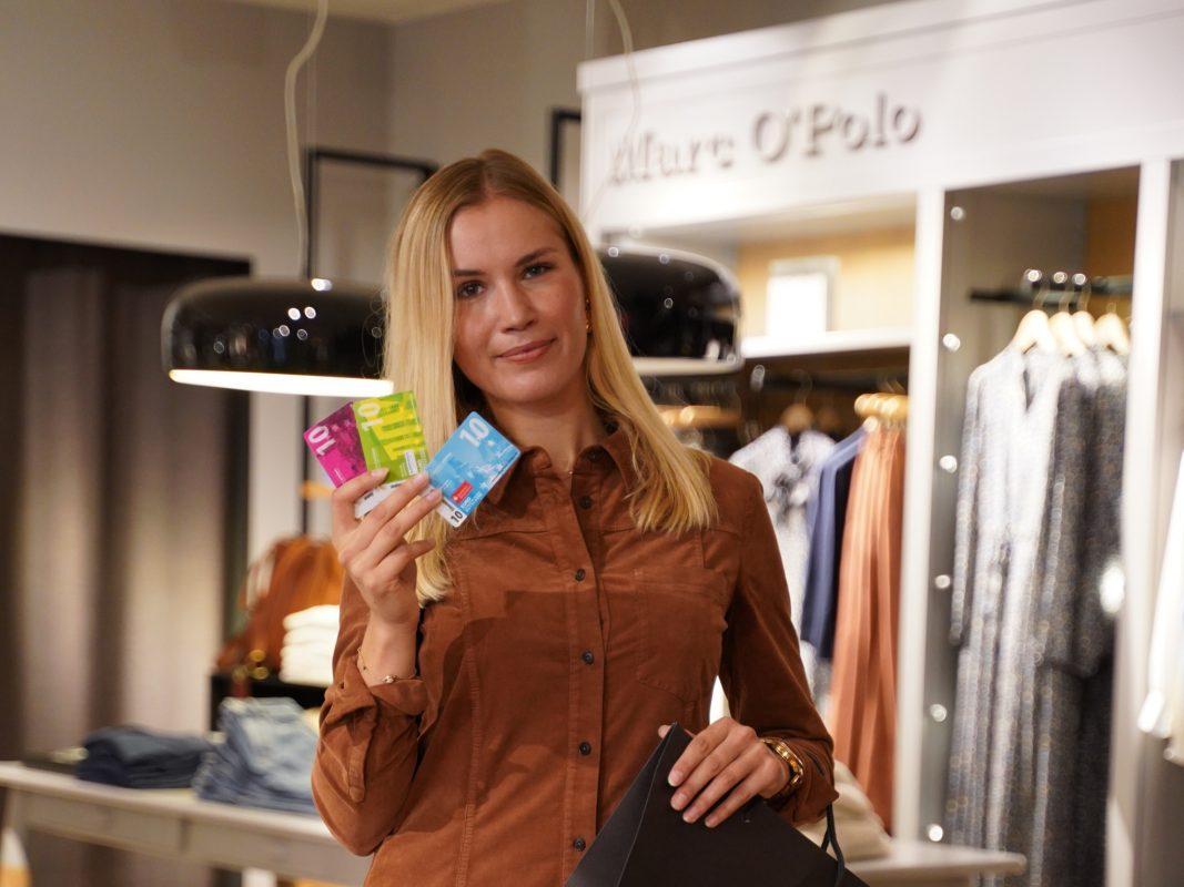 Entspannt shoppen gehen mit Schweinfurt erleben Einkaufsgutscheinen. Foto: Papay Landois GmbH