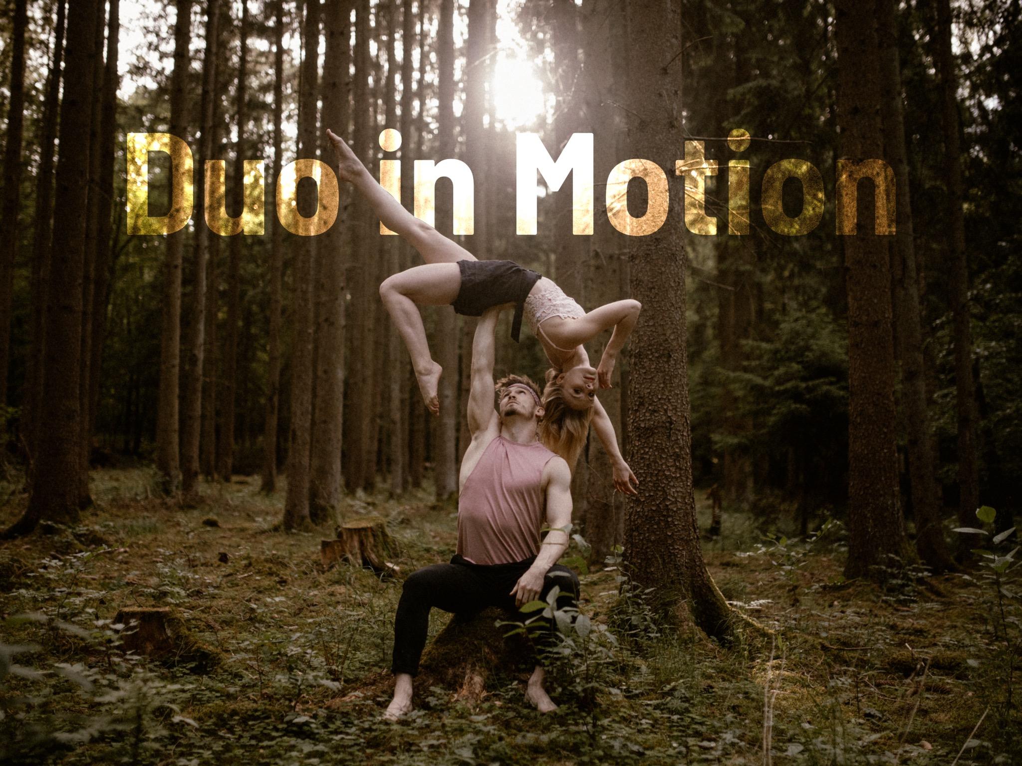 """Kira und Michi aus Schweinfurt treten zusammen als """"Duo in Motion"""" auf. Foto: takeapic"""