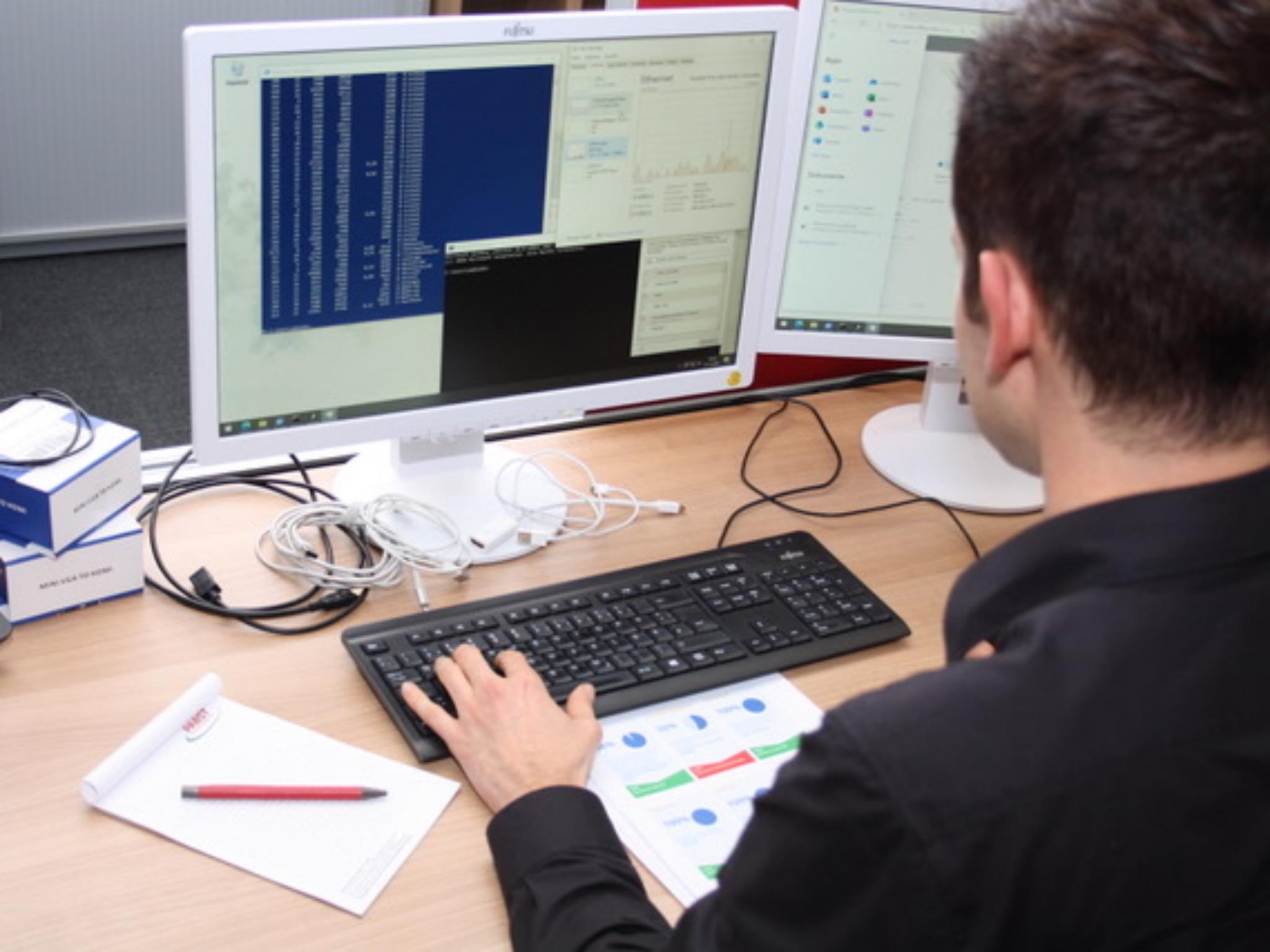InformatikerInnen werden in der Logistikbranche immer wichtiger! Foto: Pabst Transport