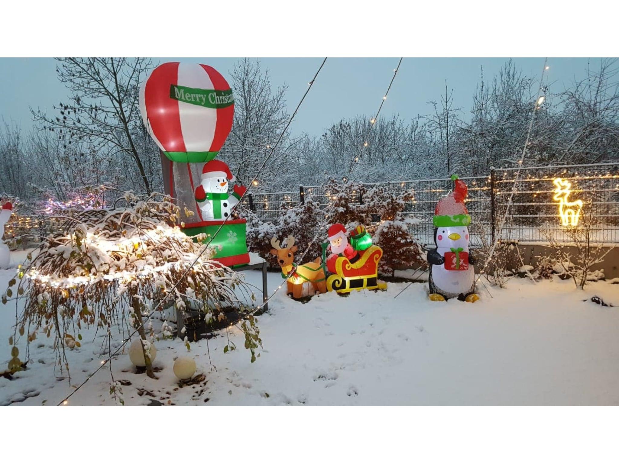 Ein beleuchtetes Weihnachtswunderland. Foto: Andreas Krumm
