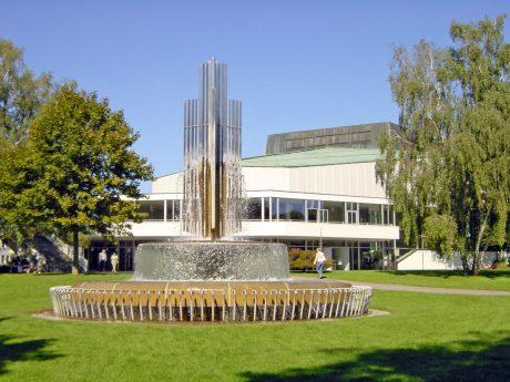 """Schweinfurt möchte die """"grüne Stadt Schweinfurt"""" werden. Die FHWS engagiert sich mit der Entwicklung von eigenen Simulationsmodellen und der Bewertung von technisch-wirtschaftlichen Szenarien im Bereich Wasserstofftechnik (Foto FHWS / Bolza-Schünemann)"""