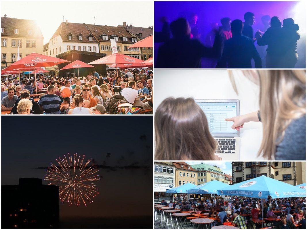 Volle Feste und Clubs und anstrengende Kollegen - diese nervigen Dinge fehlen im Lockdown. Collage: Schweinfurt City