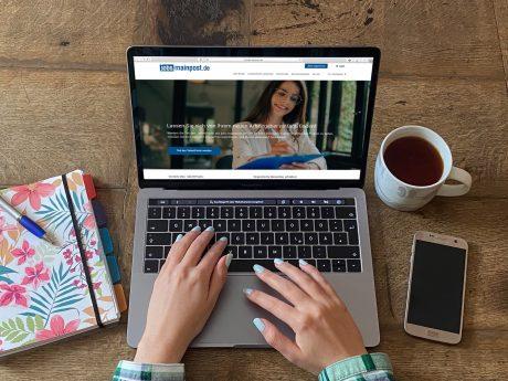 Eine neue Funktion auf jobs.mainpost.de ermöglicht es Bewerbern, in einem TalentPool zu landen. Foto: Laura Göpfert