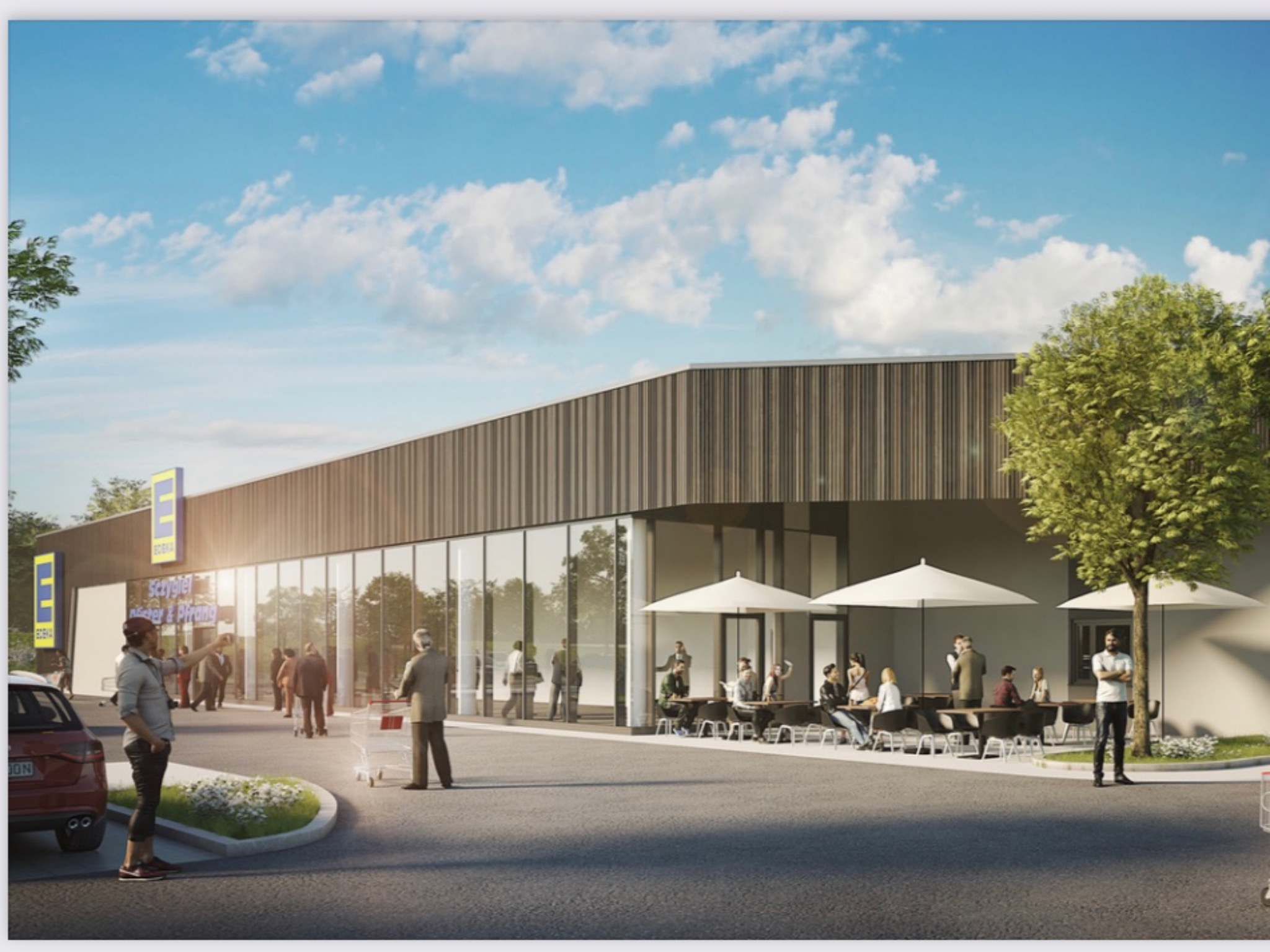 Grafenrheinfeld bekommt einen Edeka Supermarkt. Foto: Christian Keller