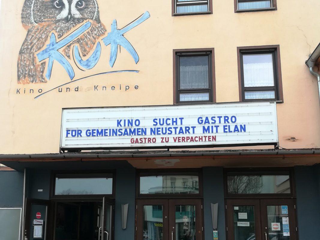 KuK Kino sucht Gastronom. Foto: KuK Kino Schweinfurt