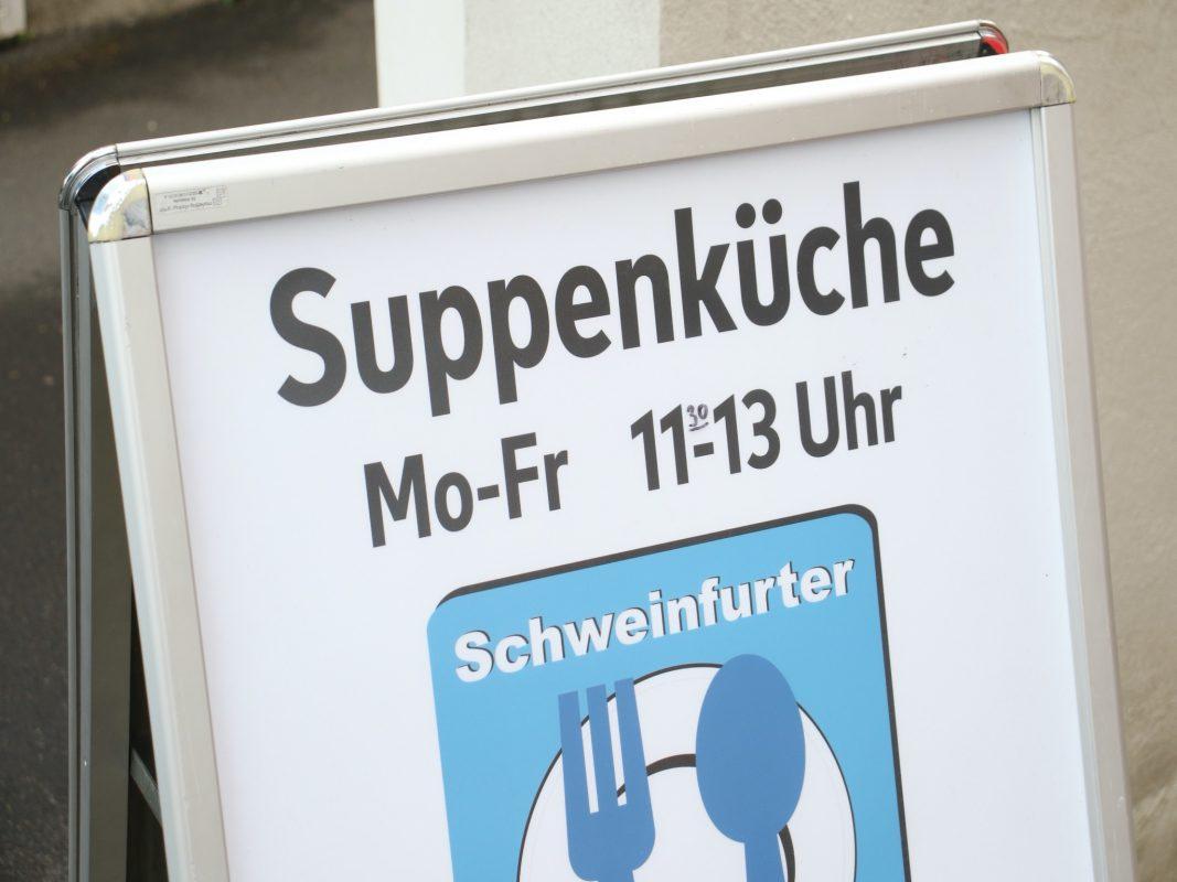 Die Suppenküche ist Montag bis Freitag geöffnet. Foto: Schweinfurter Kindertafel e.V.