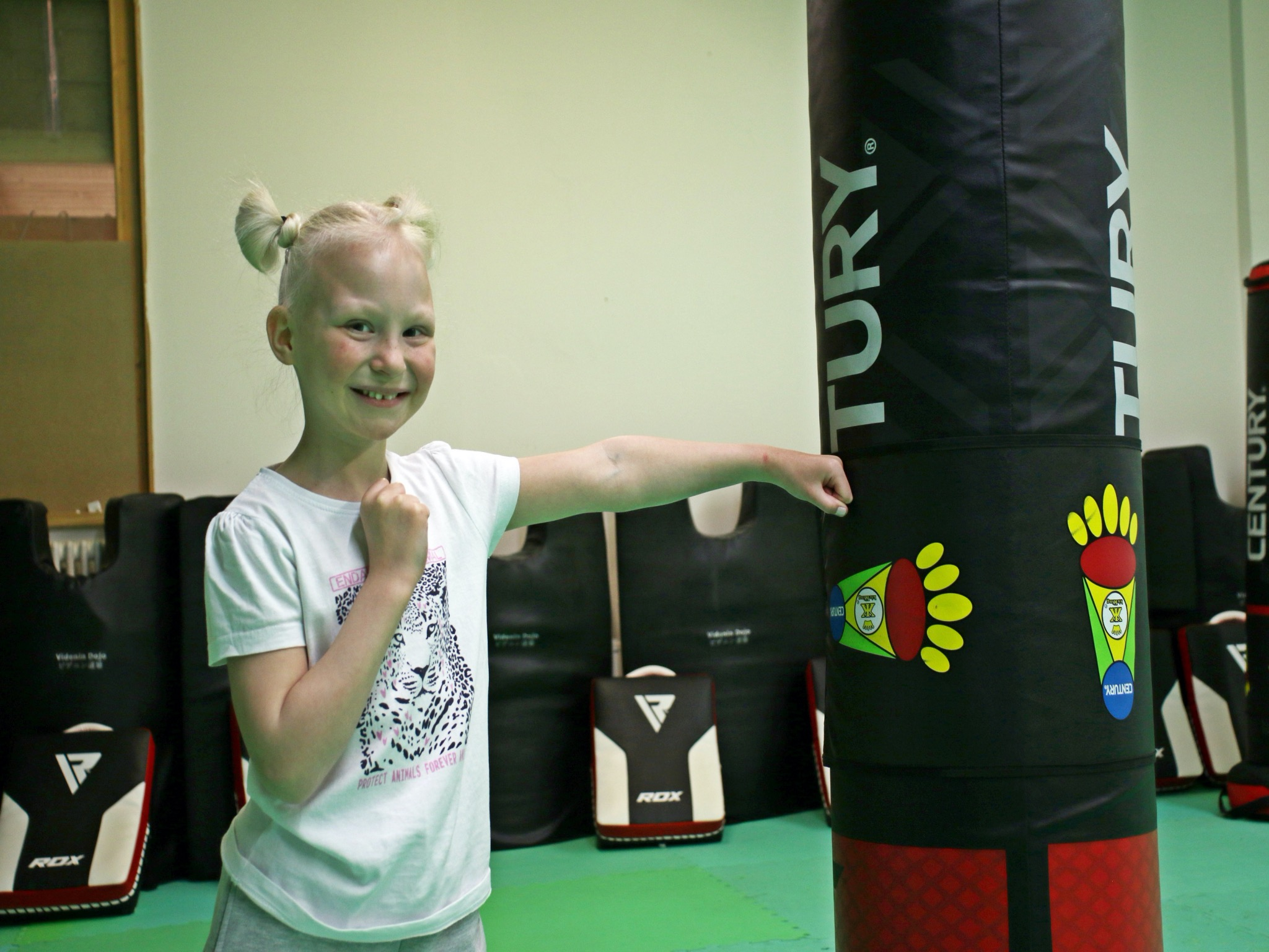 Die kleine Kämpferin Mia. Foto: Bundesverband Deutsche Kindertafel e.V