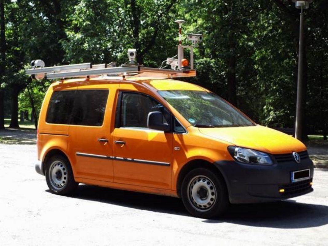 Ab 19. Juli ist in Schweinfurt ein sogenanntes Kamerafahrzeug unterwegs. Foto: GEO Net solution GmbH