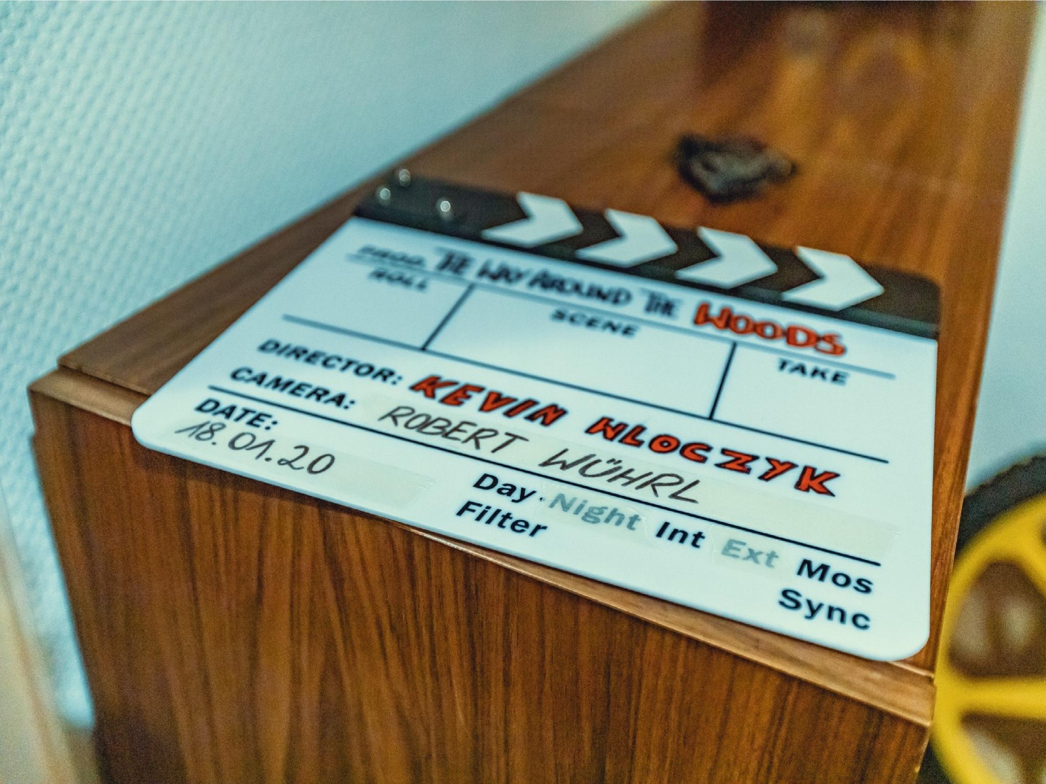 "Kevin Wloczyks neuester Film ""The Way Around The Woods"". Foto: Kevin Wloczyk."
