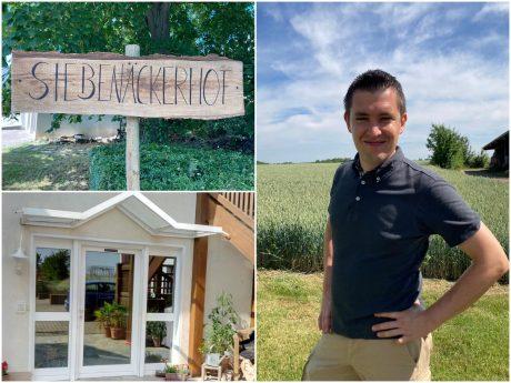 Benedikt Böhm möchte auf dem Siebenäckerhof in Niederwerrn einen Unverpackt-Hofladen eröffnen. Fotos: Benedikt Böhm