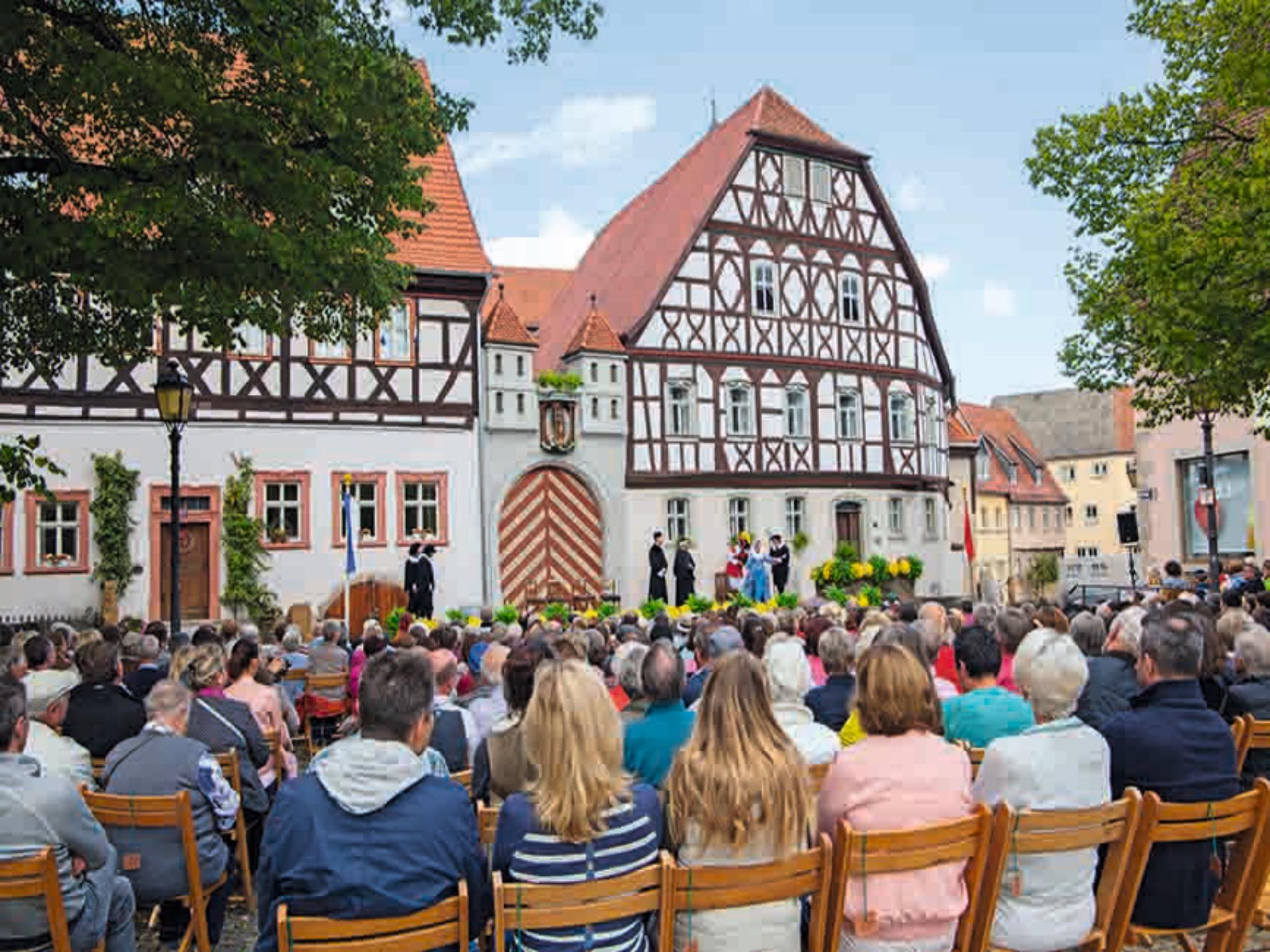 2021 findet das historische Heimatspiel in Münnerstadt wieder statt! Foto: Christine Schikora