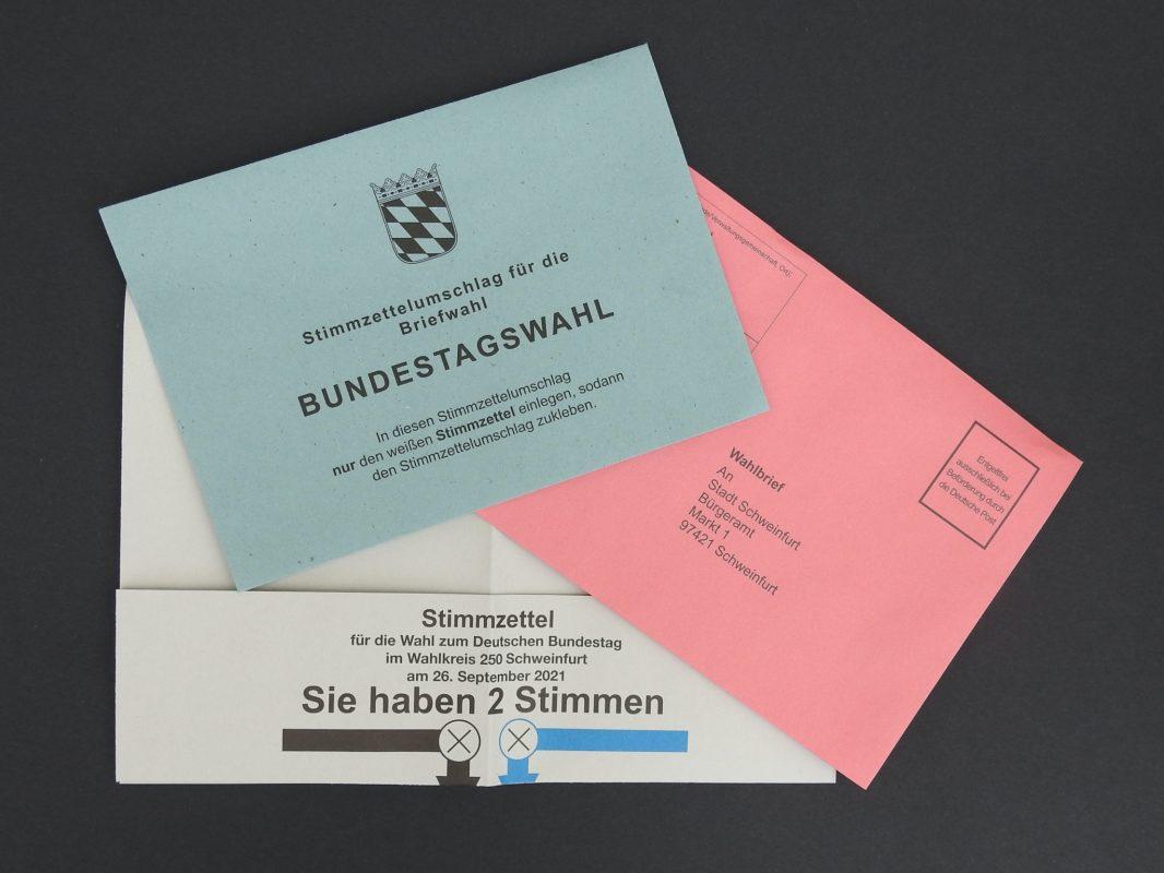 Briefwahl in Schweinfurt. Foto: Dirk Flieger