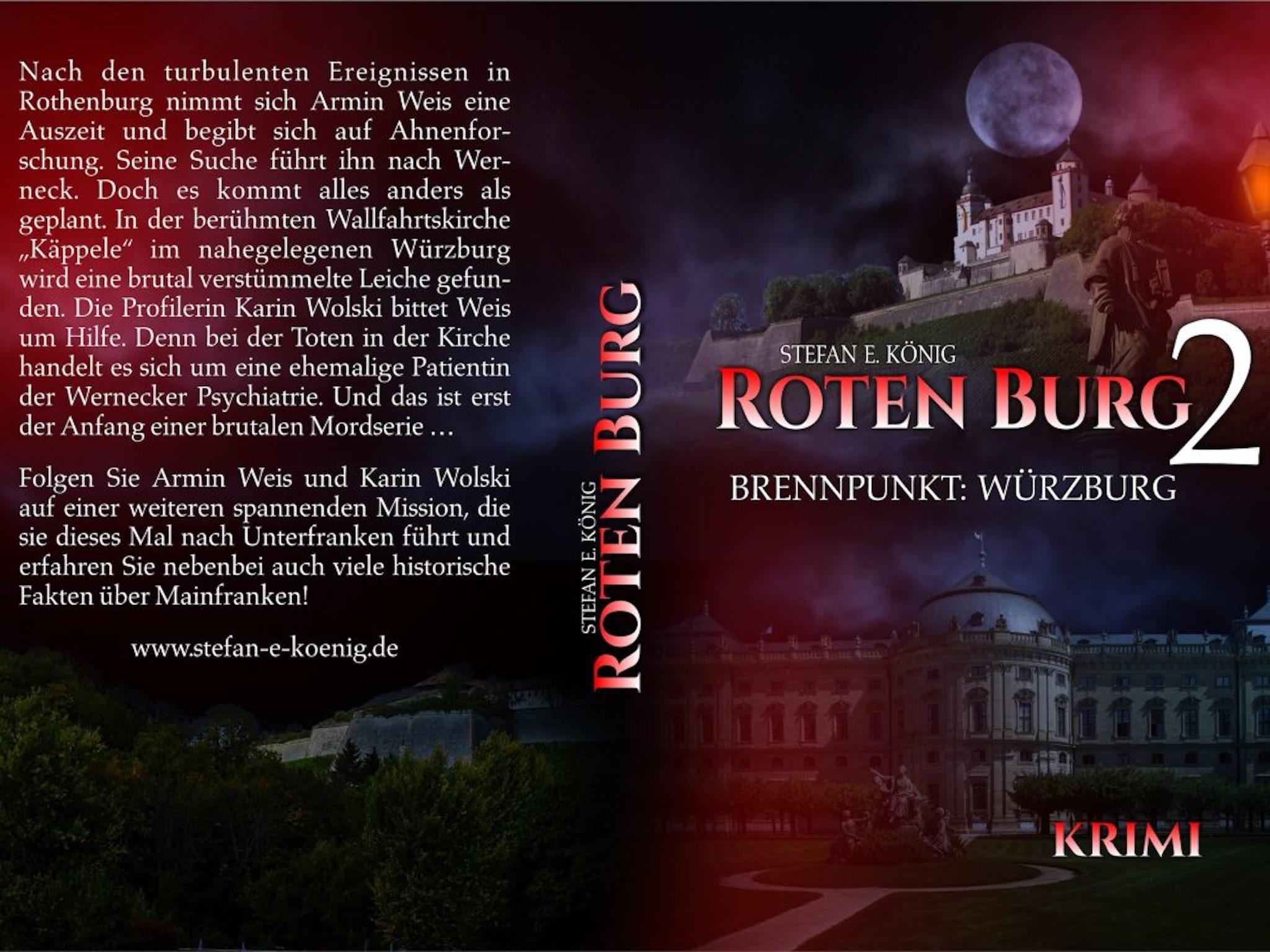 Das Cover zur Roten Burg-Fortsetzung. Foto: Stefan König