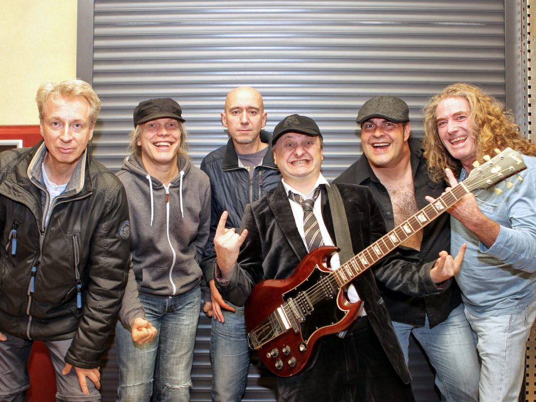 Die Band AB/CD wird bald wieder im Stattbahnhof auftreten. Foto: Fred Gasch