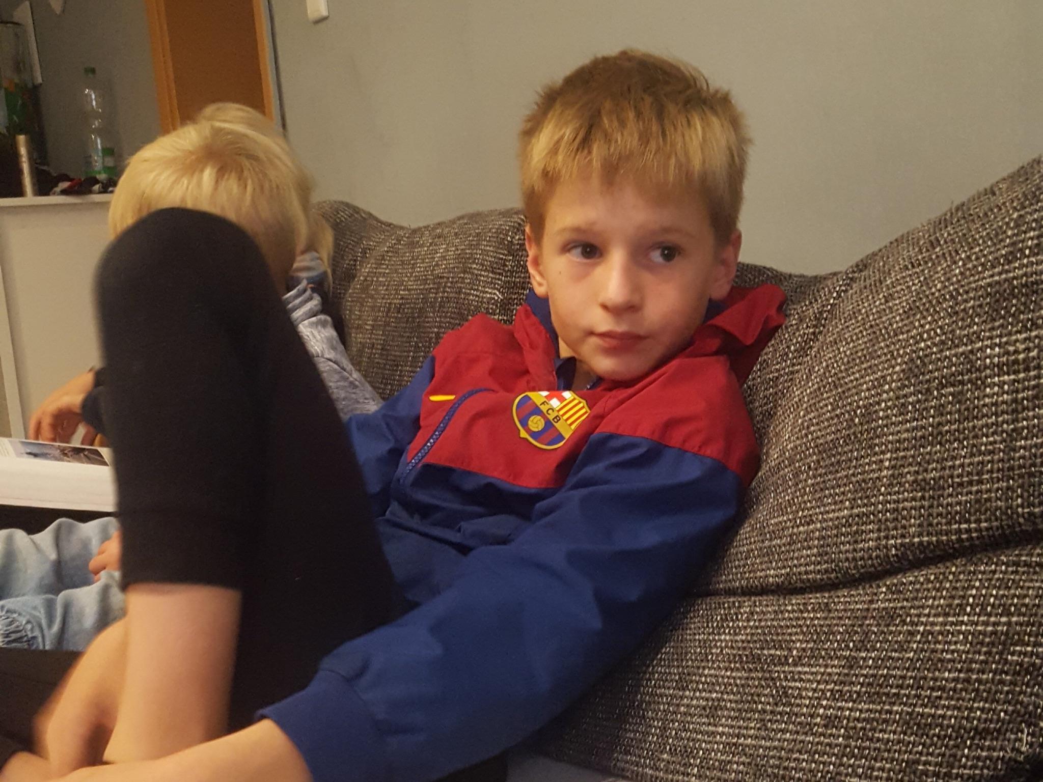 Der 11-jährige Dustin wird vermisst. Foto: Polizei